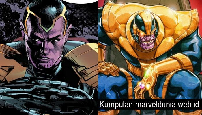 Mengenal Thane Anak Kandung Thanos
