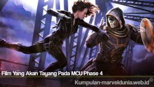 Film Yang Akan Tayang Pada MCU Phase 4
