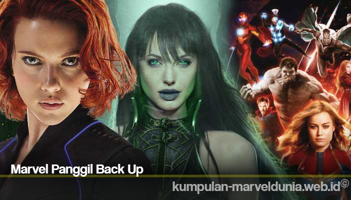 Marvel Panggil Back Up