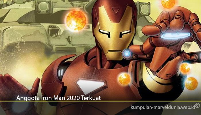 Anggota Iron Man 2020 Terkuat