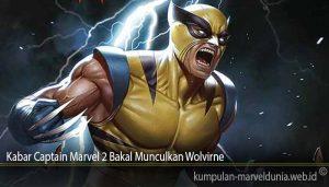 Kabar Captain Marvel 2 Bakal Munculkan Wolvirne